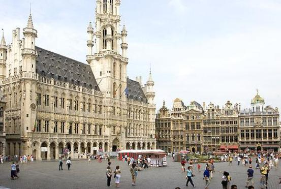One of the best squares in Brussels
