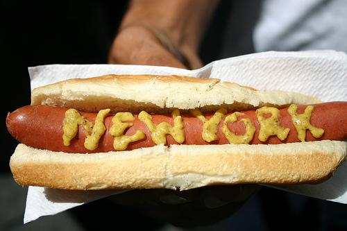 nyc hot dog