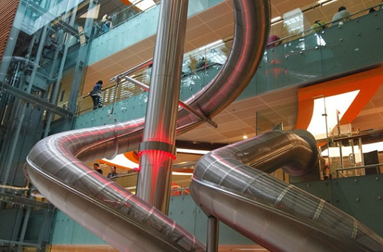 Changi Airport Slide