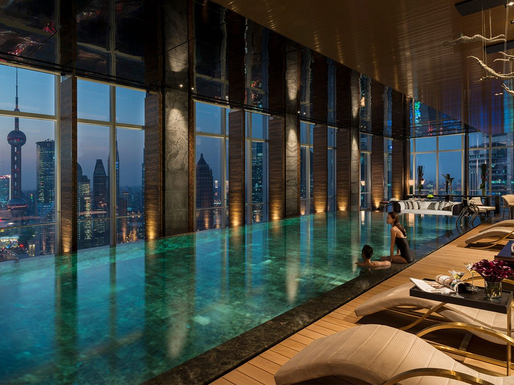 Four Seasons Hotel Pudong Pool Indoor