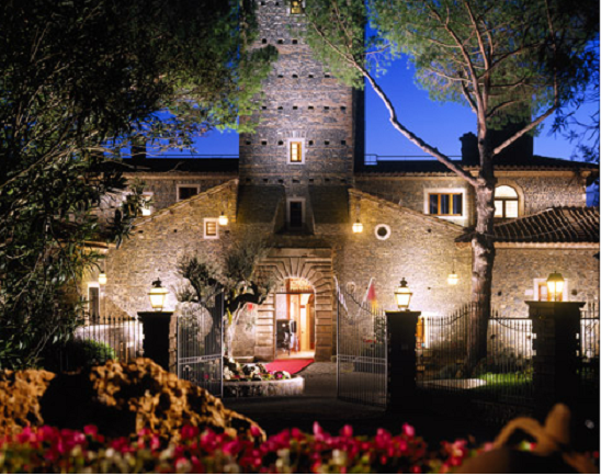 Rome haunted hotel